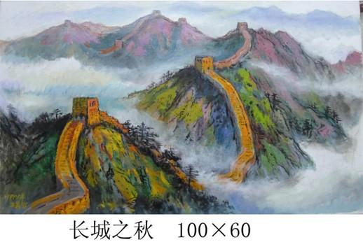 艺术大师王其智带中国特色风景油画将赴英国伦敦展出