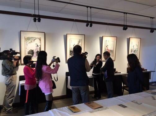 中国民间文物专家在加州大学洛杉矶分校进行学术交流